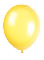 Ballonger 10pk lemon yellow