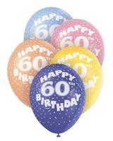 Ballonger 5pk 60år