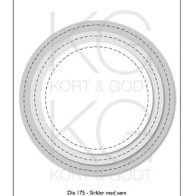 Die 175 sirkler med søm
