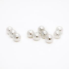 Perler 10mm krem