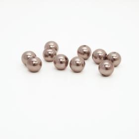 Perler 10mm grå