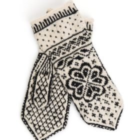 A Knit Story strikkepakke - Voss votter onesize