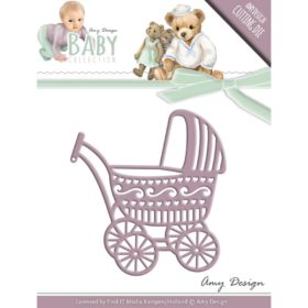 Find It Trading Amy Design Baby Die Baby Carriage