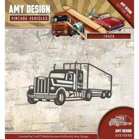 Amy Design Die-  Vintage Vehicles, truck