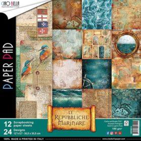 Ciao Bella Paper Pack 12×12″ - Repubbliche marinare