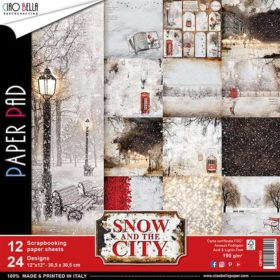Ciao Bella Paper Pack 12×12″ - Snow and The City