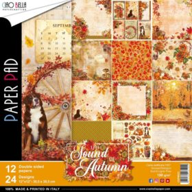 Ciao Bella Paper Pack 12×12″ - Sound Of Autumn