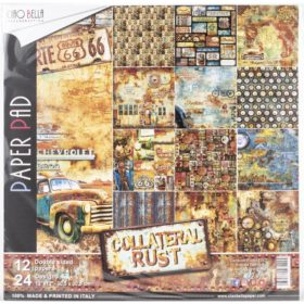 Ciao Bella Paper Pack 12×12″ - Collateral Rust
