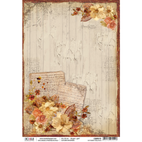 Ciao Bella Rice Paper A4 - october feelings