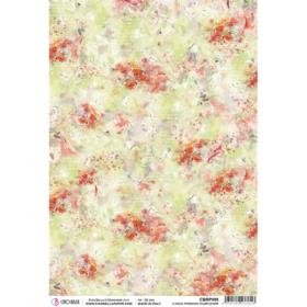Ciao Bella Rice Paper A4 - A Walk through Wildflower