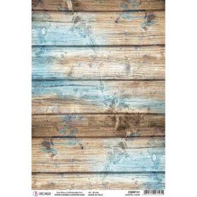 Ciao Bella Rice Paper A4 - Coastal Wood
