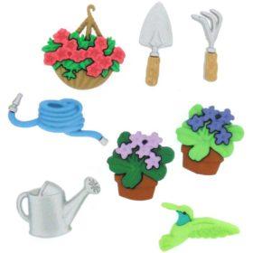 Motivknapper gardening