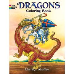 Dover Coloring book - dragons