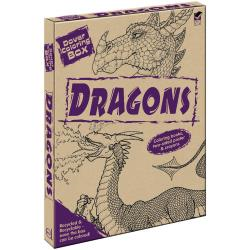Dover Coloring box - dragons