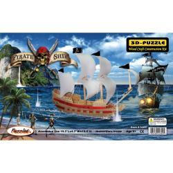 3D puzzle - pirat ship