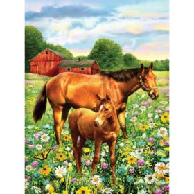 PaintByNr - horse in field
