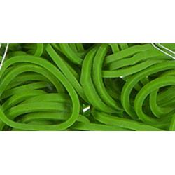 loom mini bands 300/pkg green
