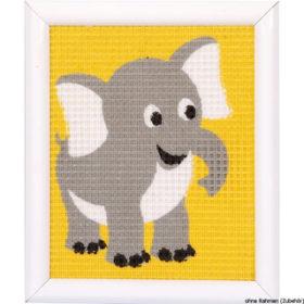 Broderisett - elephant