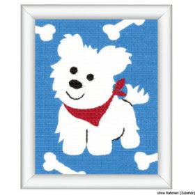 Broderisett - a little dog