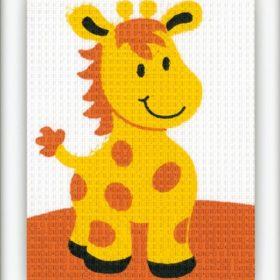 Broderisett - giraffe