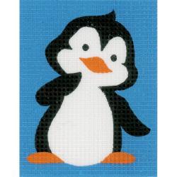 Broderisett - penguin