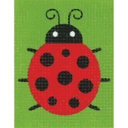 Broderisett - ladybug