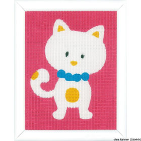 Broderisett - cute cat