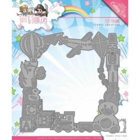 Yvonne Creations Die - Tots & Toddlers, toy frame