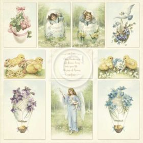 """Images from the Past - easter greetings 12x12"""""""