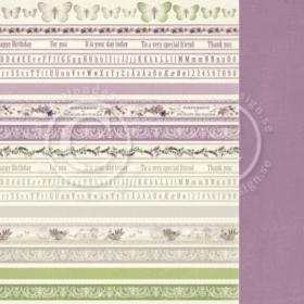 "Scent of Lavender - Borders 12x12"""