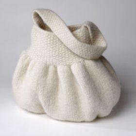 WOOL4YOU knitting kit - Molly - brun