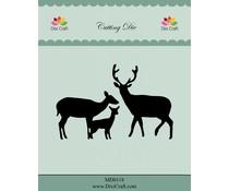 Dixi Craft dies deer family