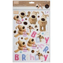 A4 decoupage - Boofle birthday
