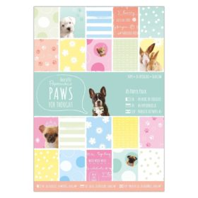 A5 paper pack - paws
