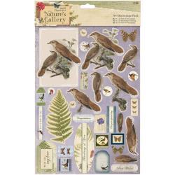 A4 decoupage pack - birds