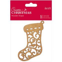 wooden shape - stocking