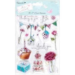 clear stamps LC bunting