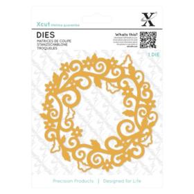 Dies - filigree circle frame