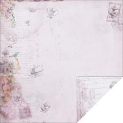 "12"" paper - purple hightea"