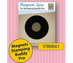 Spare magnets 2 pcs/pkg for stamping buddy Pro