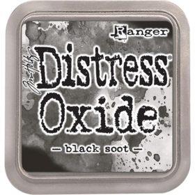 Distress oxide - black soot