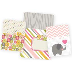 Baby Girl - Sn@p! Memorabilia Pockets 3/Pkg