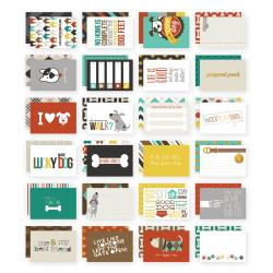 """Dog - Sn@p! Double-Sided Card Pack 4""""X6"""" 24/Pkg"""