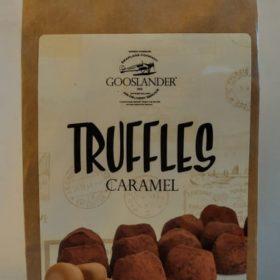 Gooslander sjokoladetrøfler 100g - karamel