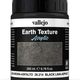 Vallejo Black Lava-Asphalt 200ml