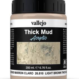 Vallejo Light Brown Mud 200ml