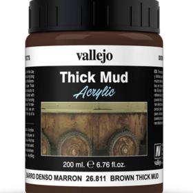 Vallejo Brown Mud 200ml