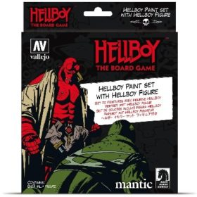 Vallejo Hellboy Paint Set Incl. Figure 8X17ML