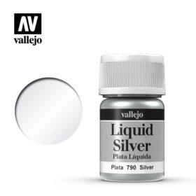 Vallejo Liquid Silver - silver