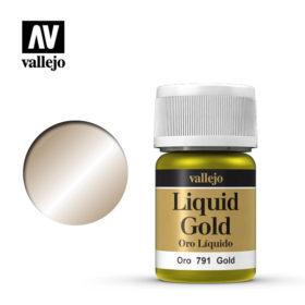 Vallejo Liquid Gold - gold